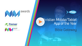 Thumbnail for entry #CNMAC13 // Christian Mobile / Tablet App of the Year