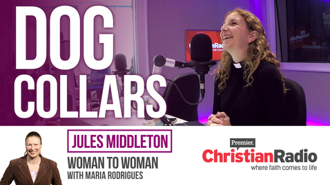 How important is it for church leaders to wear dog collars? // Jules Middleton on Woman to Woman