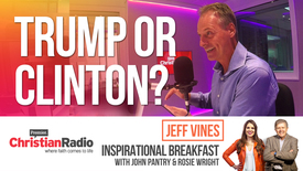 Thumbnail for entry How are Evangelical Americans voting in the Presidential Election? // Jeff Vines on Inspirational Breakfast