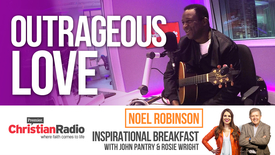 "Thumbnail for entry ""God's love is outrageous"" – Noel Robinson // Inspirational Breakfast"