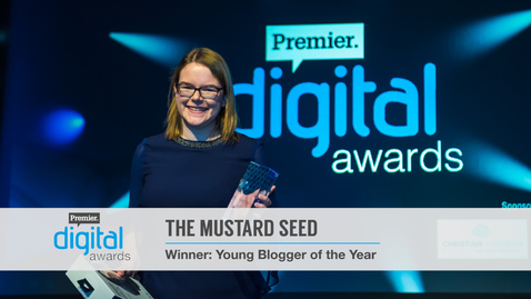 Young Blogger of the Year // Premier Digital Awards 2016
