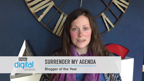 Blogger of the Year // Premier Digital Awards 2016