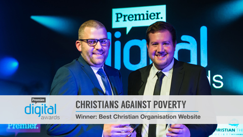 Best Christian Organisation Website // Premier Digital Awards 2016