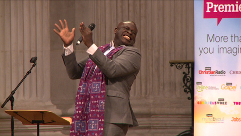 Muyiwa performs 'Only You Be God' // Premier @ St. Paul's