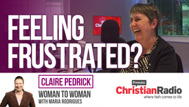 Thumbnail for entry Does God want us to be in a job we enjoy? // Claire Pedrick on Woman to Woman