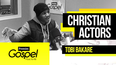 Being a Christian in TV and film industry // Tobi Bakare on Gospel Drive