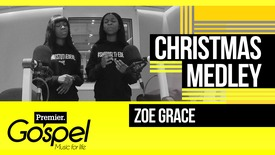 Zoe Grace perform a Christmas medley // Gospel Drive