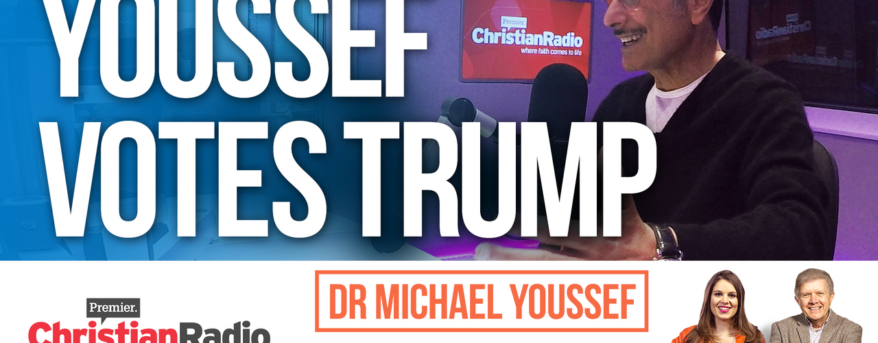 "Exclusive: Dr Michael Youssef will vote for ""the Trump ticket"" // Inspirational Breakfast"