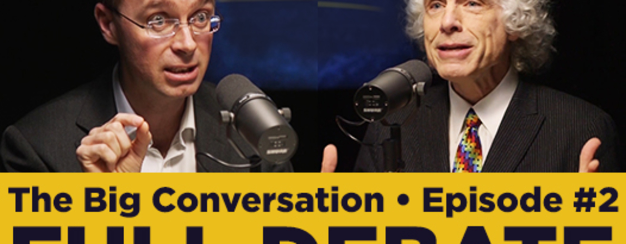 Steven Pinker vs Nick Spencer • Have science, reason and humanism replaced faith?