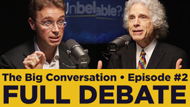 Thumbnail for entry Steven Pinker vs Nick Spencer • Have science, reason and humanism replaced faith?