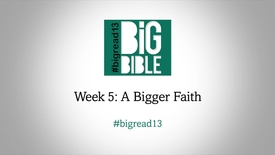 Lent: 'A Bigger Faith' by Dr Rowan Williams #BigRead13