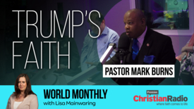 "Thumbnail for entry ""Trump is a Christian"" // Pastor Mark Burns on World Monthly"