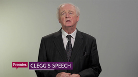 Thumbnail for entry Clegg's Speech // Premier News
