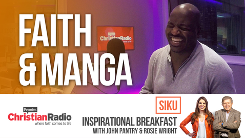 Siku on work and faith // Inspirational Breakfast