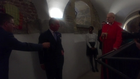 Thumbnail for entry Prince Charles with Bishop of London