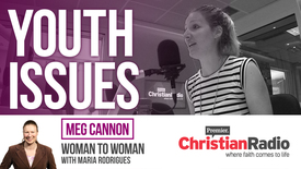 Thumbnail for entry Helping youth talk about tough issues // Meg Cannon on Woman to Woman