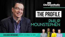 Thumbnail for entry Highights: Philip Mounstephen on The Profile // Premier Christian Radio