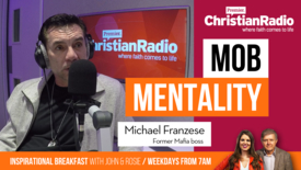 Thumbnail for entry From mafia mobster, to man on a mission // Michael Franzese on IB