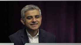 Thumbnail for entry Sadiq Khan //Labour candidate for Mayor of London // Premier News
