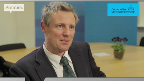 Zac Goldsmith // Conservative candidate for Mayor of London // Premier News