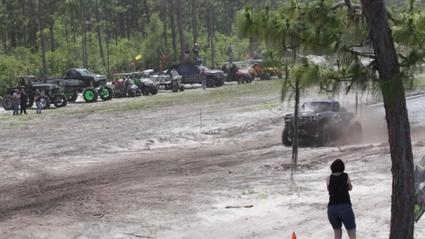 Next Up Shell Shock - Run 1 at Triple Canopy Ranch 2015 & Radioactive - Best Of at Triple Canopy Ranch 2015 : Mega Truck Series