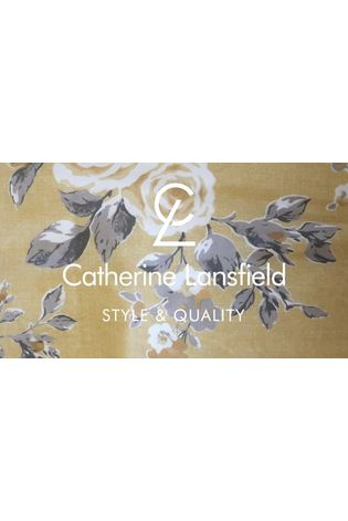 Catherine Lansfield Canterbury Floral Duvet Cover and Pillowcase Set