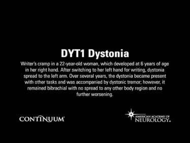 DYT1 Dystonia