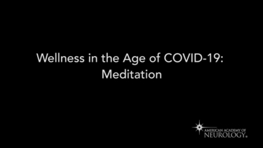 COVID-19: Wellness in the Age of COVID-19_Meditation