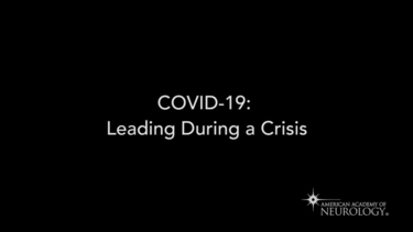 COVID-19: Leading During a Crisis