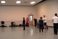 Image for Bodystorming Error Correction in Mitosis: Emily Tubman with student dancers, Apr. 2013
