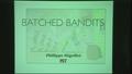 Image for Batched Bandit Problems