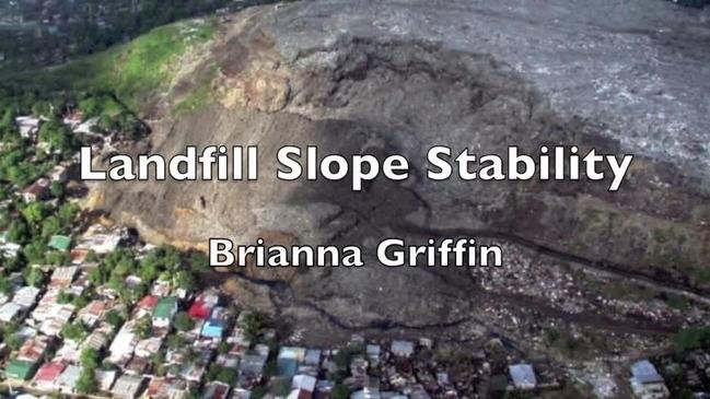 Expertism Video Landfill Slope Stability Uw Madison