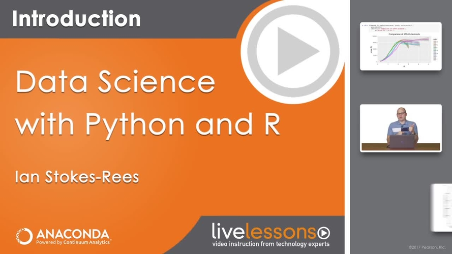 OREILLY LIVELESSONS DATA SCIENCE WITH PYTHON AND R TUTORIAL