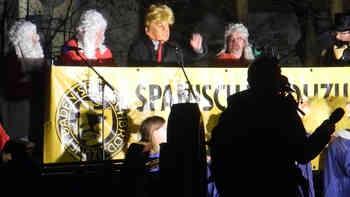 «A big wall between Baden and Wettingen»: Ausschnitte aus Trumps Ansprache in Baden