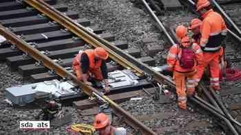 Reparaturarbeiten im Bahnhof Luzern schreiten voran