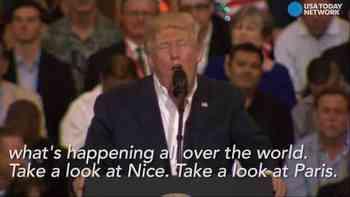 Trump: «Letzte Nacht in Schweden»