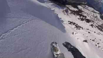 Phu, dieses Video aus den Schweizer Alpen ist eine Warnung für alle unerfahrenen Freerider