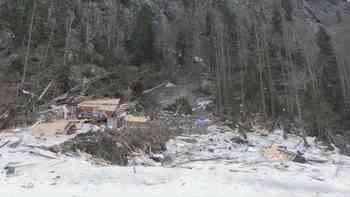 Sicherungsarbeiten im Lawinengelände von Salvan (VS) abgeschlossen