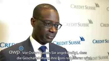 CS-Chef Thiam reagiert auf Aktionärs-Kritik an hohen Boni