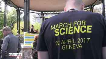 Marsch für die Wissenschaft in Genf