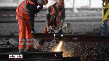 Reparaturarbeiten im Bahnhof Luzern dauern an