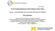 A Tea Tasting Experience with TeaHaus of Ann Arbor