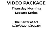 The Power of Art (Series) (2/20/2020-4/2/2020)