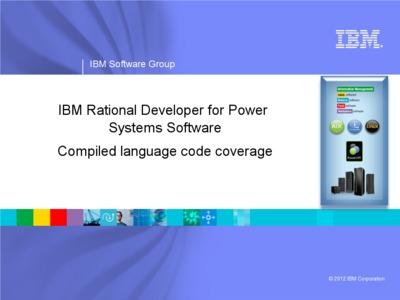 Code coverage analysis for C, C++, and COBOL - IBM MediaCenter