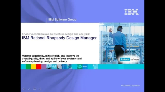 Ibm rhapsody design manager