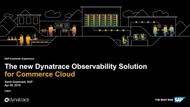 The New Dynatrace Observability Solution for Commerce Cloud