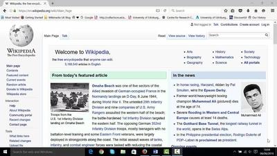 Wikipedia editing in under 25 mins - Media Hopper Create
