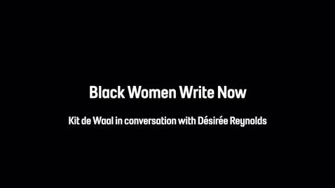 Thumbnail for entry Black Women Write Now | Live In Conversation | Off the Shelf
