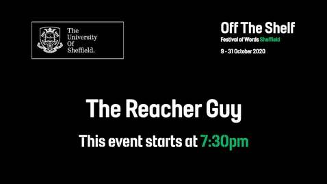 Thumbnail for entry The Reacher Guy: The Authorised Biography of Lee Child | Live In Conversation | Off the Shelf