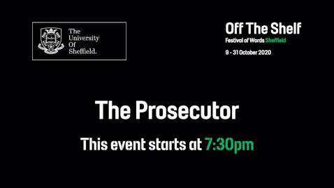 Thumbnail for entry Off the Shelf: The Prosecutor